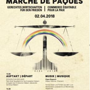 Marche de Pâques à Berne