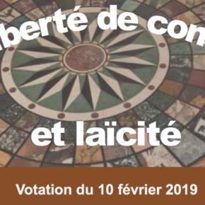 Laïcité - votation 10 février