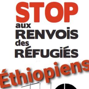 STOP aux renvois des réfugiés éthiopiens